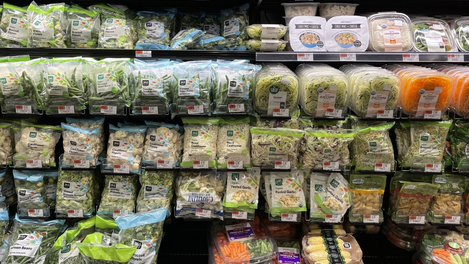 Whole Foods Produce Aisle